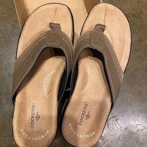 Dockers Memory Foam men's sandals 9 medium